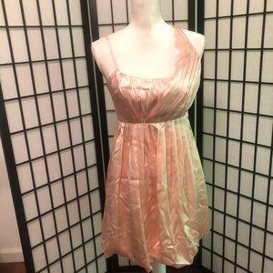 Sean John NWT S 4 blush pink mini dress bubble